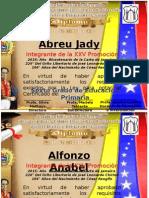 Diplomas 6to A