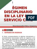 RÉGIMEN DISCIPLINARIO EN LA LEY DEL SERVICIO CIVIL.ppt