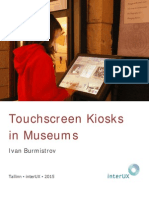 Touchscreen Kiosks in Museums