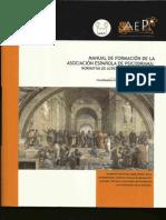 Manual Formación de La Asociación Española de Psicodrama-fases Instrumentos