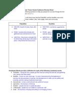 Chapter Three Review Sheet- Hunter Gatherers -