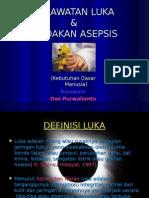 PERAWATAN LUKA&TINDAKAN ASEPSIS