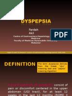 Dyspepsia