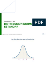 Distribucion Normal Estandar