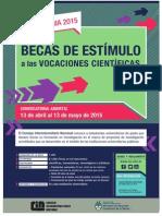 Afiche EVC 2015