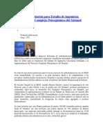 Estudio de Ingeniería Conceptual Del Complejo Petroquímico Del Metanol