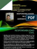 Responsabilidades de Los Administradores
