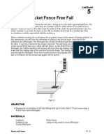 Picket Fence Freefall Lab