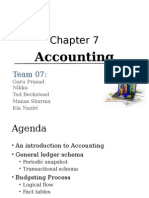Accounting in BDW