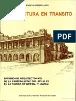 Arquitectura de Transito de Enrique Urzaiz
