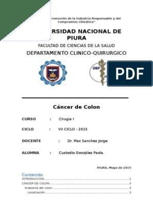 Cancer de colon edad