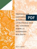 Protocolo de Cartagena Sobre Seguridad de La