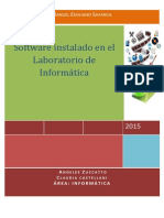 Inventario Del Software Laboratorio 2015