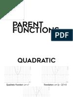 Parent Functions PDF