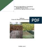 Censo de Plantas Ornamentales 2007 Huetar Norte