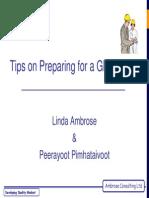 Tips for Preparing for Audit