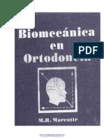 Biomecanica en Ortodoncia - M. R. Marcotte