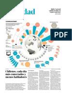 Chilenos, Cada Día Más Conectados y Menos Habladores