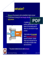 Extrusion And Its Application