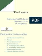 Lecture 4 Statics