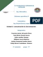 Unidad II Comunicacion & Sincronizacion