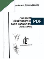 CORREA SELAME-Curso de Derecho Procesal Examen Grado_Parte1