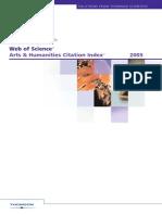 Revistas Isi Humanidades 2005