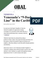 Venezulas Nine-Dash-Line in the Caribbean - R Evan Ellis