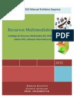 Catalogo de Recursos Multimediales