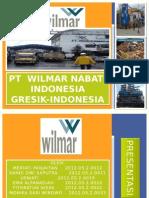Pengajuan Magang PT.wilmar Nabati Indonesia