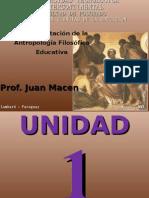 Antropología Filosófica Educativa