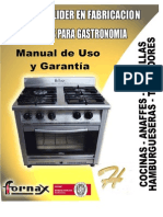 Fornex Manual Cocinas