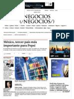 México, Tercer País Más Importante Para Pepsi - Grupo Milenio