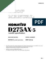 Manual de Taller D275AX-5 (ING)
