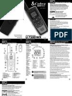 Cobra Electronics Microtalk Li 7500 Wx
