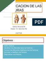 clasificacion de las fracturas