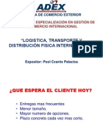 Logistica Transporte DFI