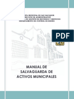 Manual de Salvaguarda de Activos Municipales