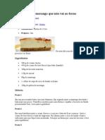 Cheesecake de Morango Que Não Vai Ao Forno