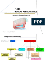 PN 5013 Aerodinamika Numerik-Lecture11 Algebraic Grids