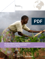 The SLU Global Food Security Research and Education Program 2010-2013_Web
