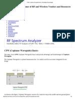 CPW _ Coplanar Waveguide Basics, Advantages,Disadvantages