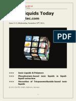 Ionic Liquids Today_3-2011