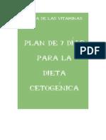 Plan Dieta Cetogenica