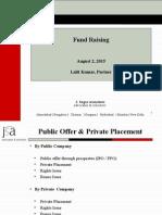 Presentation Fund Raising IMT Ghaziabad August 2 2015