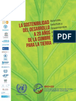 Sostenibilidad del Desarrollo a 20 Años de la Cumbre de la Tierra