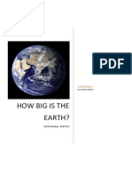 how big is the earth folio task 2014 gabriel rayo