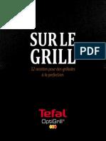 Optigrill GC702D01 Tefal Livre Recettes