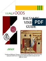 2015 Italfoods Balsamic Guide