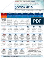 Andhrapradesh Telugu Calendar 2015 September
